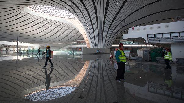 Größter Terminal der Welt in Peking fertiggestellt, BER ist dagegen immer noch Baustelle