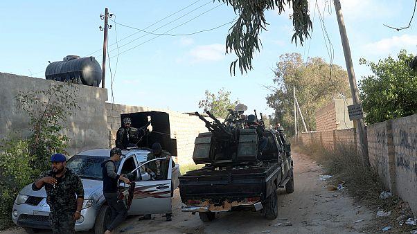 عناصر من قوات الحكومة المسيطرة على العاصمة الليبية طرابلس