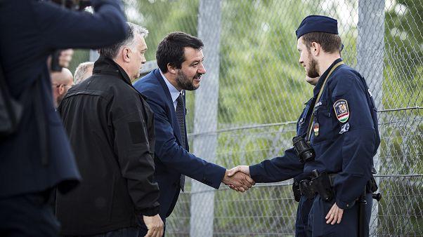 Orbán Viktorral építene új Európát Salvini