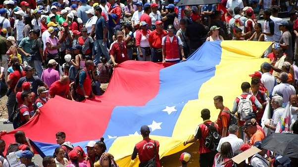 President Maduro stays in office despite large May day protests in Venezuela