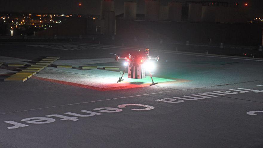 Drone που μεταφέρει μόσχευμα, προσγειώνεται στο πανεπιστήμιο του Μέριλαντ