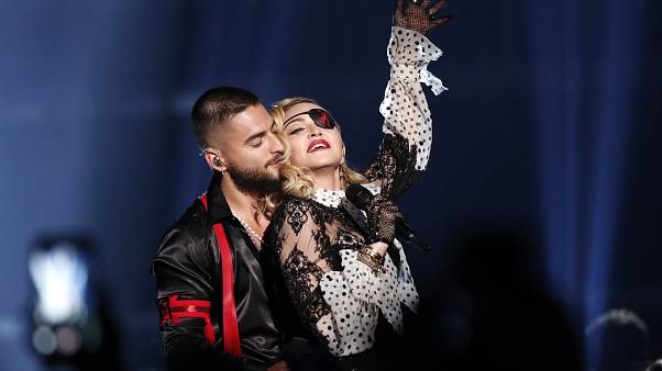 Madonna leva Portugal aos Prémios Billboard
