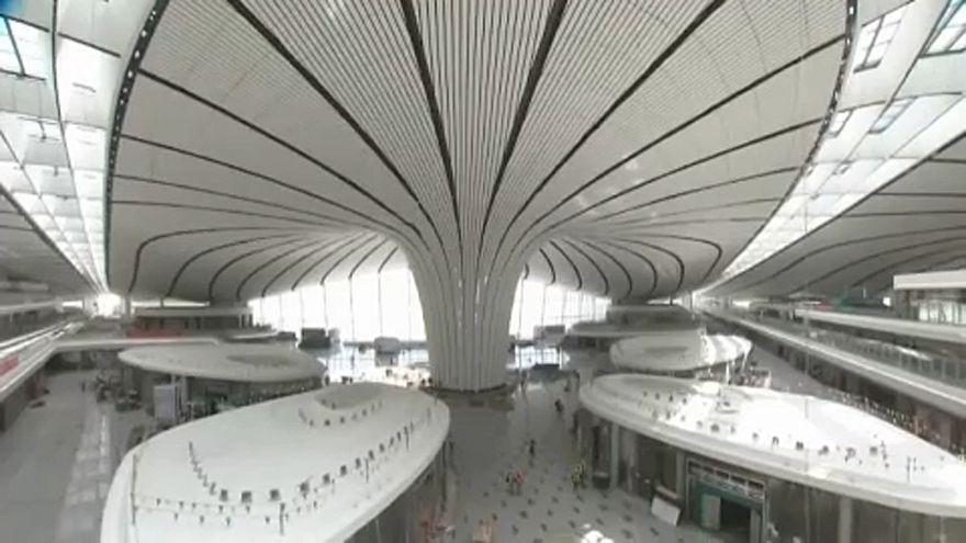 A legnagyobbak között az új pekingi repülőtér