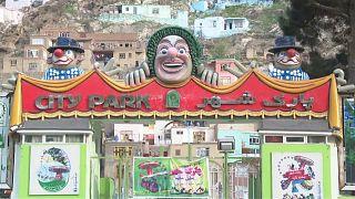 Auf dem Rummel in Kabul