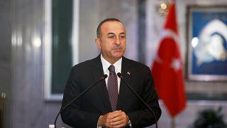 وزير الخارجية التركي مولود جاويش أوغلو/بغداد/28 أبريل 2019