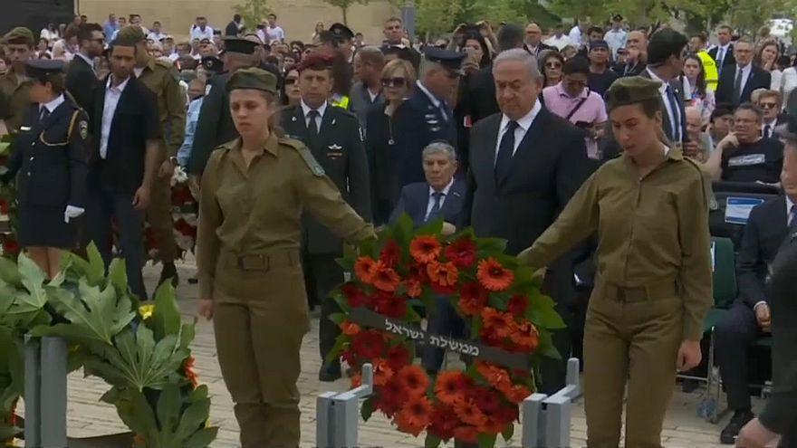 ویدئو؛ اسرائیلیها یاد قربانیان هلوکاست را گرامی داشتند