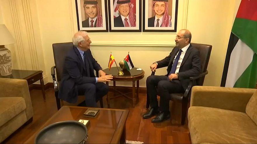 """Borrell revalida la fórmula """"dos estados"""" para Israel y Palestina"""
