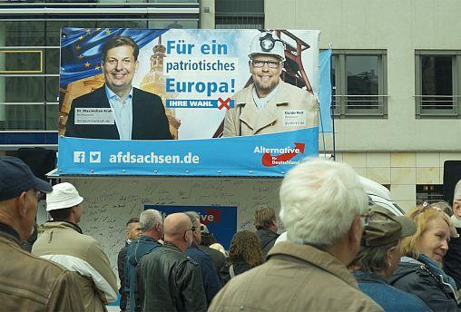 À la rencontre de l'extrême droite allemande, à Chemnitz
