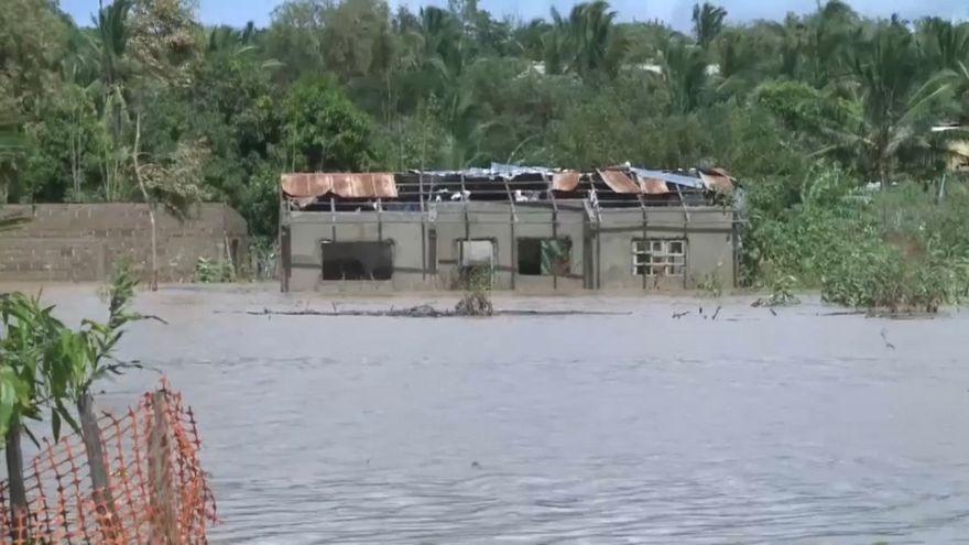 El ciclón Kenneth inunda el norte de Mozambique