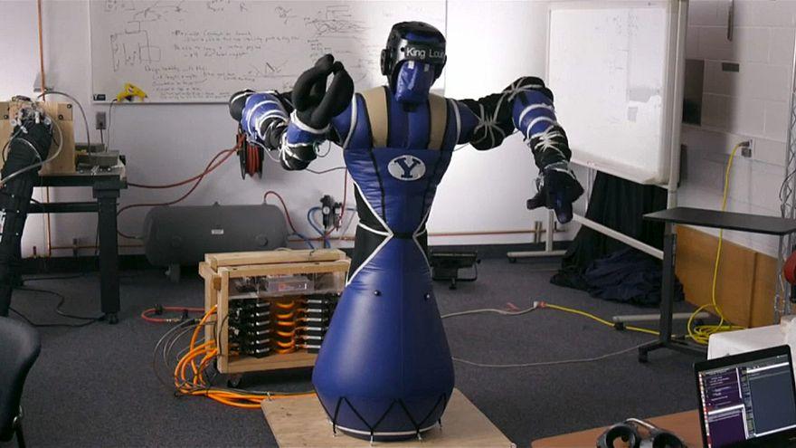 شاهد: روبوت قابل للنفخ قد يستخدم في الفضاء