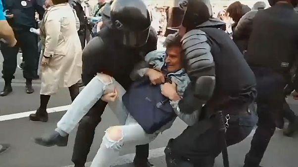 Russia: primo maggio di arresti
