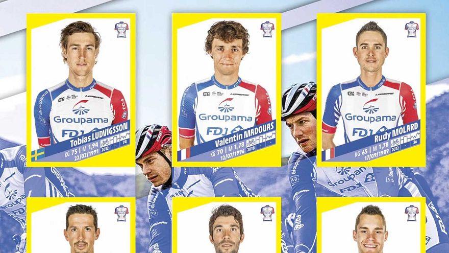 Panini lance son premier album consacré au Tour de France