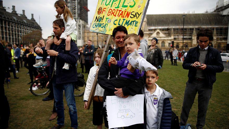 Klimaschutzaktivisten in London