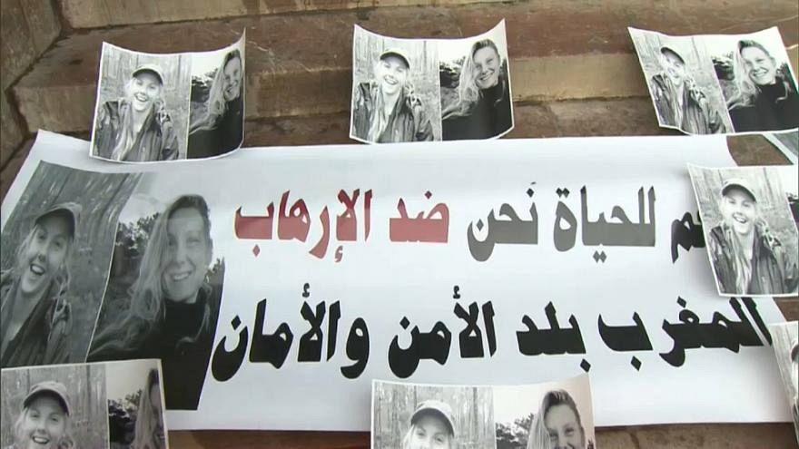 مثول 24 متهما أمام المحكمة بقضية قتل امرأتين اسكندنافيتين بالمغرب