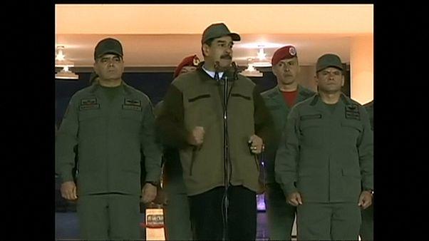 Umsturzversuch: Maduro schwört venezolanisches Militär auf sich ein