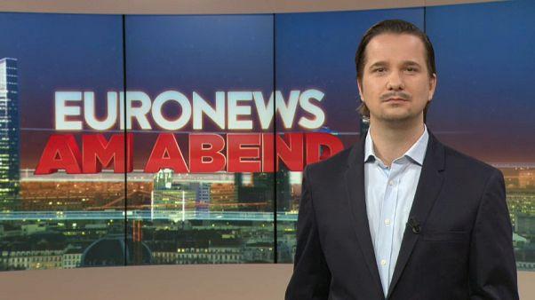 Euronews am Abend, am 2.5.2019 mit Lutz Faupel
