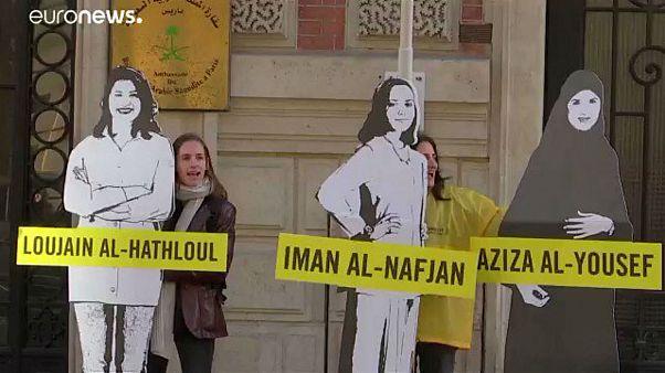 من وقفة احتجاجية دعما للمعتقلات