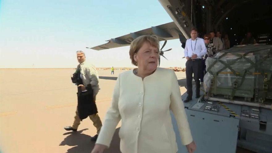 Merkel in Mali