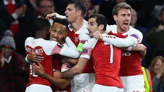 UEFA Avrupa Ligi yarı final ilk karşılaşmalarında İngiliz takımları avantaj sağladı