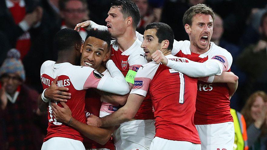Europa League: Arsenal jubelt, Eintracht spielt 1:1