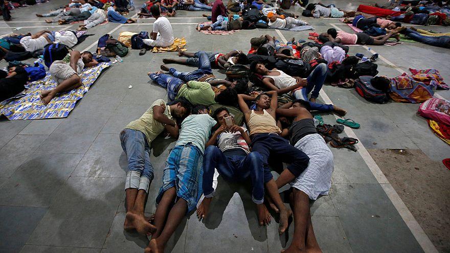 Lecsapott a Fani trópusi ciklon Indiára
