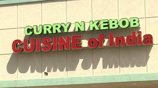 صورة لواجهة مطعم الرجلين الهنديين في دنفر