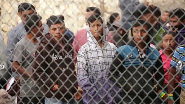 مخيمات المهاجرين