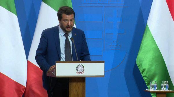 Salvini: Avrupa İslamcı halifelik haline dönüşebilir, engellemek için elimden geleni yapacağım