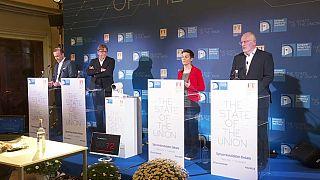 Schlagabtausch der EU-Spitzenkanidaten