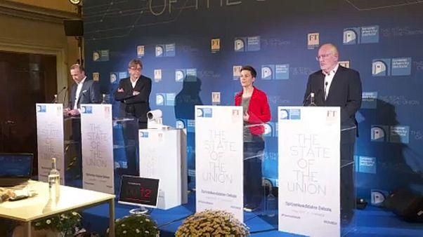 Firenzében vitázott Weber, Verhofstadt, Keller és Timmermans