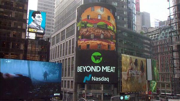 """La carne """"fake"""" triunfa en Wall Street"""