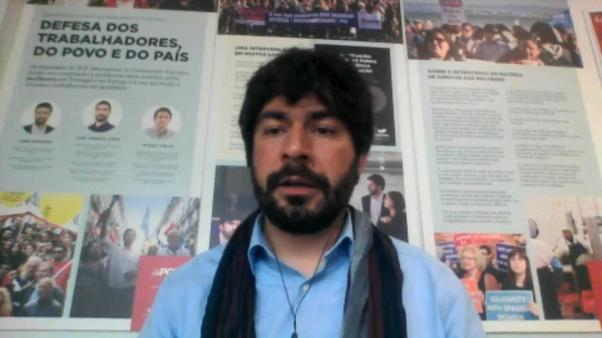 Há um ataque ao pilar social na Europa, diz João Lopes (CDU)