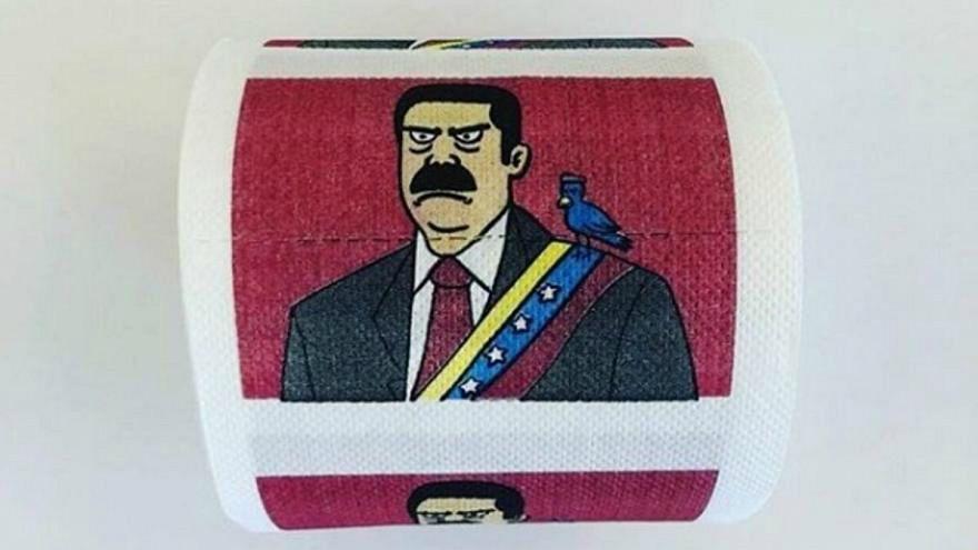 """ورق تواليت """"مزركش"""" بصور الرئيس الفنزويلي يُصنَّف 5 نجوم على """"أمازون"""""""