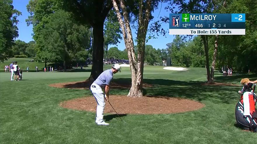 Golf: McIlroy in testa al Wells Fargo International