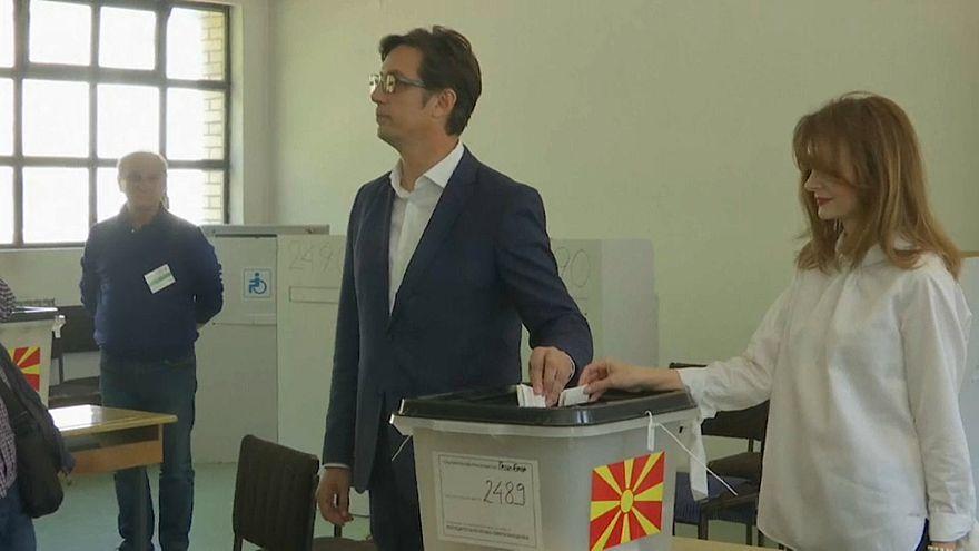 Elnököt választ Észak-Macedónia