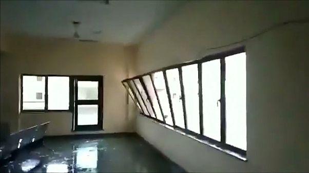 Stürmisches Unwetter in Indien