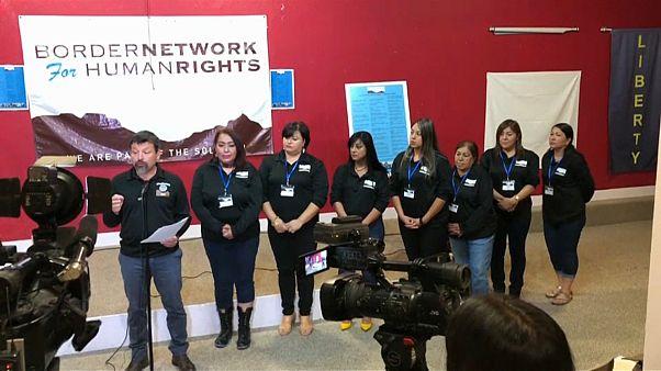Ativistas recolhem queixas de migrantes na fronteira com os EUA