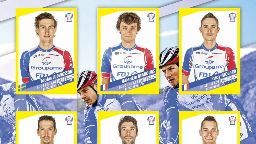 Panini launches first Tour de France sticker book