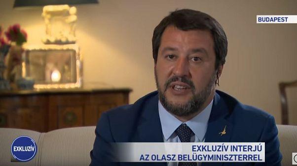 """Salvini ha detto alla TV ungherese che ha paura l'Europa """"diventi un califfato islamico"""""""
