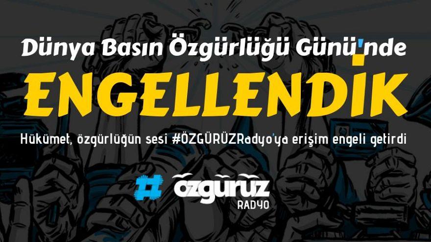 Can Dündar'ın kurduğu Özgürüz Radyo, Dünya Basın Özgürlüğü Günü'nde Türkiye'den erişime engellendi