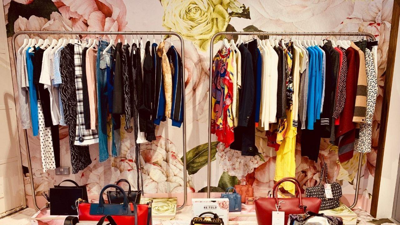 Harrods pop-up shop, Marylebone