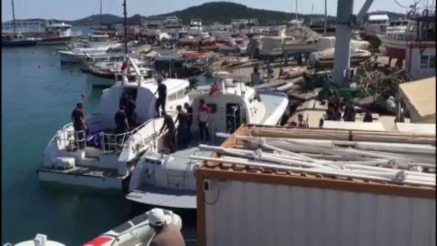 Τουρκία: Νεκροί μετανάστες σε ναυάγιο στο Αϊβαλί