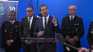 Le ministre français de l'Intérieur, en déplacement à Toulon, 03/05/2019
