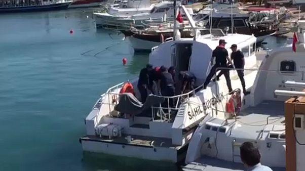 9 мигрантов утонули у берегов Турции