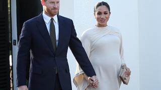 Britain's Prince Harry and Meghan, Duchess of Sussex in February 2019.