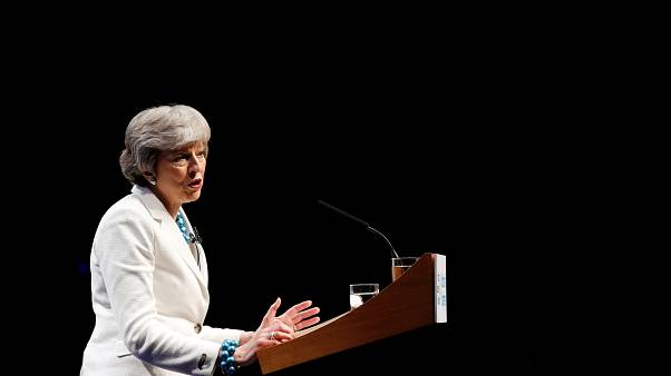 British Prime Minister Theresa May on May 3, 2019