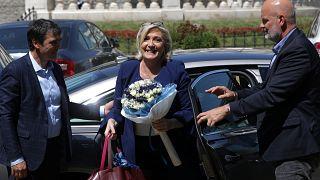Η Μαρίν Λεπέν στο euronews