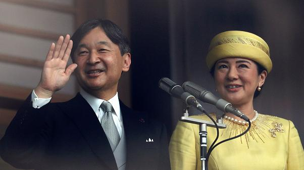 Japan's new emperor makes first public appearance