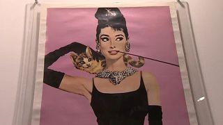 """""""Intimate Audrey"""": Exposição mostra momentos privados da atriz"""
