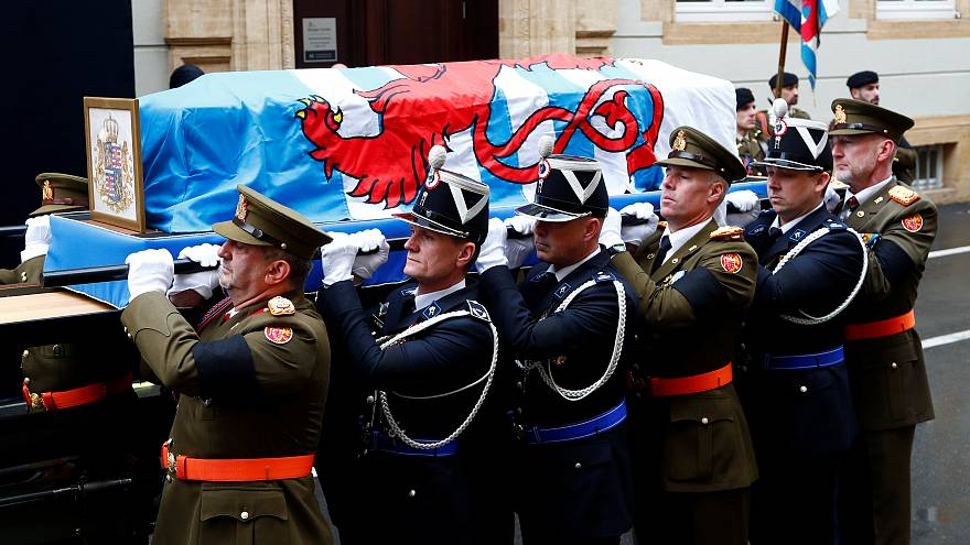 Watch again: Funeral of Luxembourg's ex-monarch Grand Duke Jean